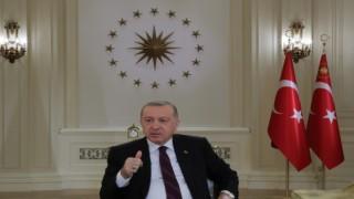Cumhurbaşkanı Erdoğanın TRT Yayınında dikkat çeken detay