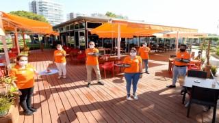 Deniz Yüzü Kafe hizmete açıldı