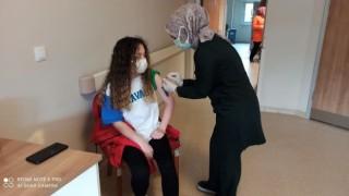 Devrek Devlet Hastanesinde aşı yoğunluğu yaşanıyor