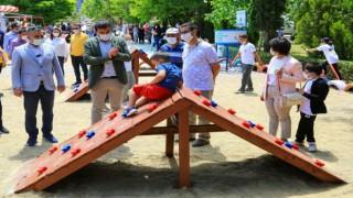 Doğa dostu geri dönüşüm parkı hizmete açıldı