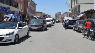 Eleşkirtte Türkiye 3.lerine Muhteşem Karşılama Yapıldı