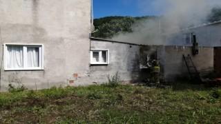 Erdekte ev yangını korkuttu