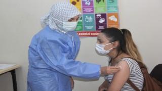 Erzincan OSBde aşı işçilerin ayağına gitti