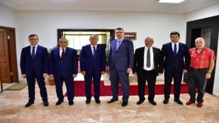 Erzurum Yargı Kademesinden ESOBa veda ziyareti