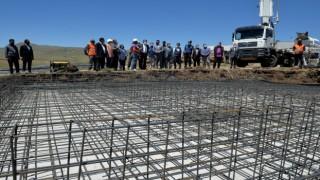 Erzurumda 575 deprem konutunun temeli atıldı