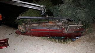 Fethiyede trafik kazası:1 ölü