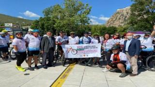 Frigya Bisiklet Festivali Afyonkarahisarda başladı