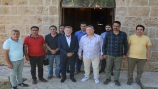 GAP gazeteciler heyeti Şemdinlide