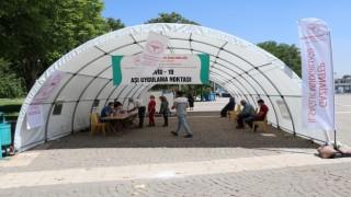 Gaziantepte günlük 35 bin kişi aşılanıyor