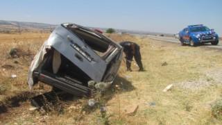Gaziantepte trafik kazası: 1 ölü, 2 yaralı