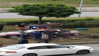 Giresunda trafik kazası: 4 yaralı
