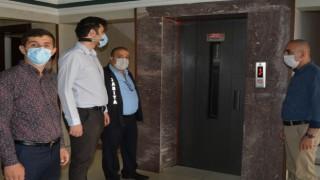 Hakkaride asansörler denetlendi