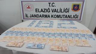 İstanbuldan Elazığa 26 bin TL sahte para getiren şüpheli yakalandı