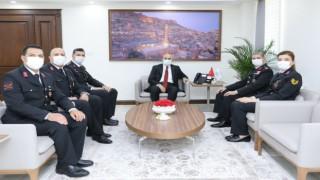 Jandarma Teşkilatından Mardin Valisi Demirtaşa 182. kuruluş yıl dönümü ziyareti