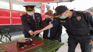 Jandarmanın 182. yaşı Uşakta kutlandı