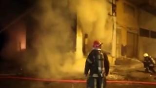 Kahramanmaraşta iş yeri yangını