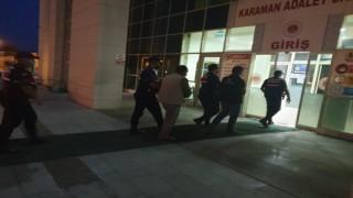 Karamanda aranan 2 kişi tutuklandı