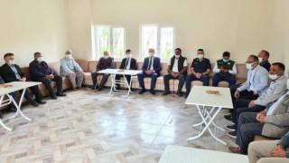 Kaymakam Cebeci ve Başkan Şahin Ekinli Mahallesini ziyaret etti