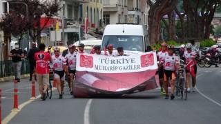 Kıbrıs Gazisi anısına düzenlenen 861 kilometrelik bisiklet turu Orduda sonlandı