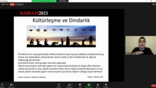 """Kiliste """"Kültürleşme Psikolojisi"""" başlıklı e-konferans yapıldı"""