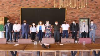 Kırşehir Memleket Hareketi, tanışma sohbetinde basın temsilcileri ile bir araya geldi