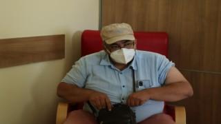 Kırşehirde korona virüs aşısına yoğun ilgi