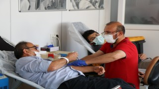 Kızılay Kırşehirde kan bağışı çağrısında bulundu
