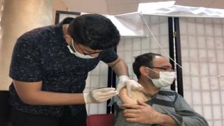 Konyada yerinde aşı uygulamasıyla ilk günde 510 kişi aşılandı