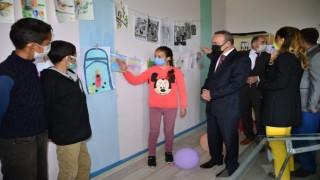 Köy okulunda görsel sanatlar atölyesi açılışı yapıldı