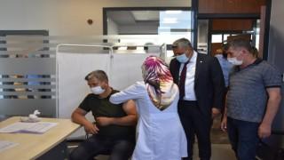 """Malatya TSO Başkanı Sadıkoğlu: """"30 bin çalışanımız kısa sürede aşılanacak"""""""
