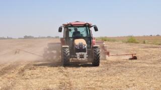 Mardinde ikinci ürün olan mısır ekimine başlandı