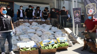 Mersinde ele geçirilen kokainin miktarı 1 ton 300 kiloya yükseldi