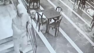 Muhtarlık binasını soyan şahıs yakalandı