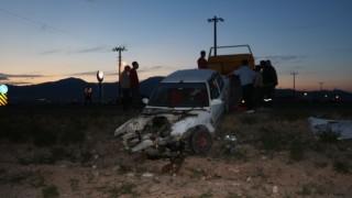 Niğdede iki otomobil çarpıştı: 4 yaralı
