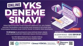 Öğrenciler için 'Online YKS Deneme Sınavı