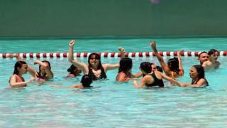 Otizmli çocuklar beş yıldızlı tatilin keyfini çıkardı
