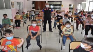 (ÖZEL) Minik öğrencilere Afet Farkındalık Eğitimi