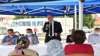 Pamukkale Belediye Başkanı Örki mahalle buluşmalarına yeniden başladı