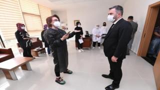 Pursaklarda belediye personeline Korona virüs aşısı