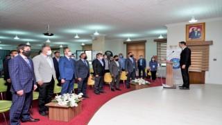 Rektör Türkmen, spor çalıştayına katıldı