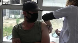 Rizede sanayi esnafı bugün aşılarını olmaya başladı