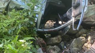Rizede trafik kazası: 2 ölü, 1 yaralı