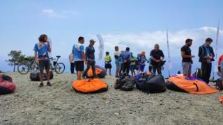 Samandağda yamaç paraşütü şampiyonası coşkusu