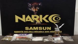 Samsunda uyuşturucu operasyonu: 4 gözaltı