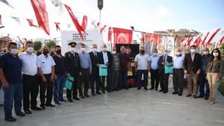Şehit Teğmen Fikret Dinçerin adının yaşatılacağı park törenle açıldı
