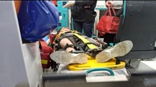 Siirtte eşeğe bağlı iple sürüklenen çocuk yaralandı