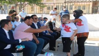 Silifkede otizmli çocuklar Yaz Şenliğinde eğlendi