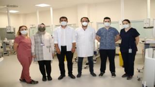 Sinop Atatürk Devlet Hastanesinde İnme Ünitesi açıldı