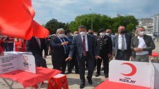 Sinop protokolü ve askerlerden kan bağışı
