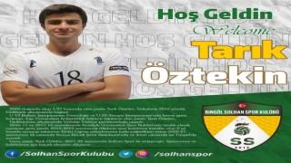 Solhan Spor, Tarık Öztekin ile anlaştı